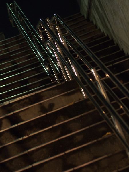 Staircase of night.