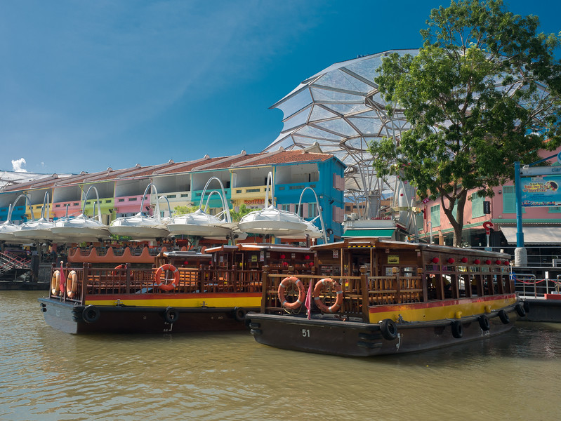 The Colours of Clarke Quay