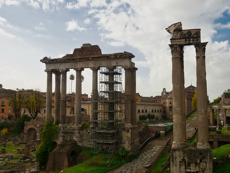 Roman Scaffolding