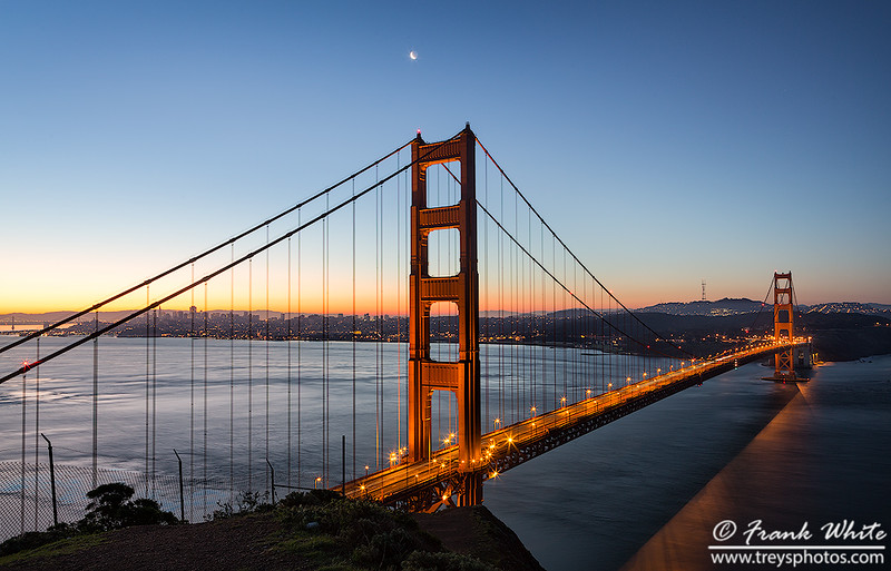 Golden Gate at Sunrise