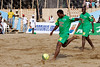 2006 Douala Beach Soccer tournament, with former players from Cameroun and France, Douala, Cameroon.