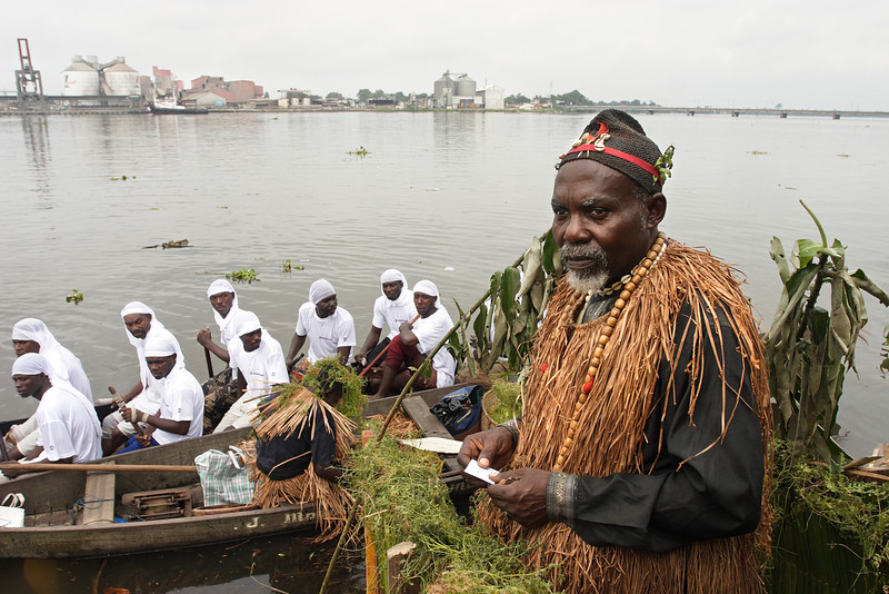 Ngondo festival from the Sawa people, Littoral, Douala, Cameroon.