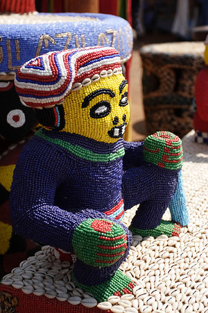 Detail from the Sultan chair, 2008 Nguon festival, Foumban, Cameroon.