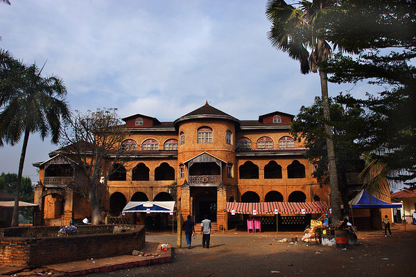 Palace of the Bamoun Sultan, Fumban, Cameroon.