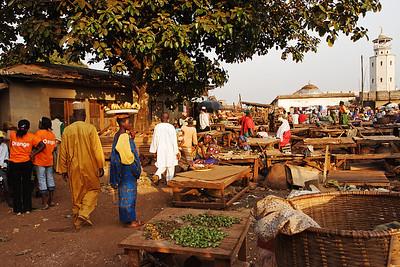 Market place, Foumban, West, Cameroon.