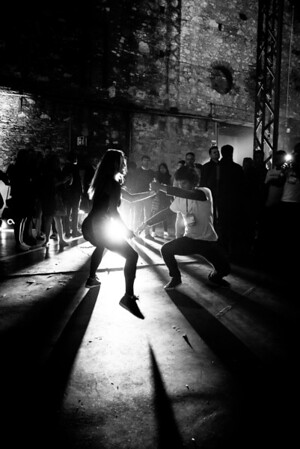 Dancers in Lisbon