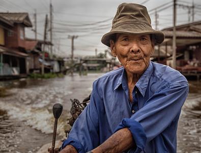 Chiang, the boatman, Thailand