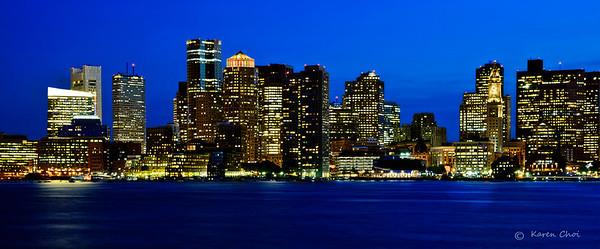 Boston Skyline 2012