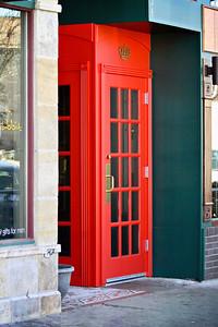 Red Pub Door