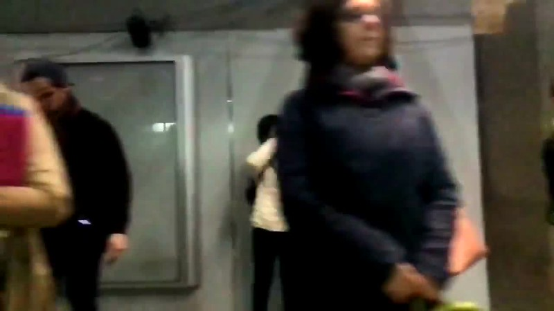 Click to play video.  Montreal Metro, April 2017. In love with the human race.