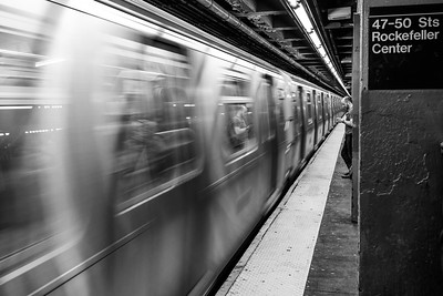 Subway Man, New York City  (80138)