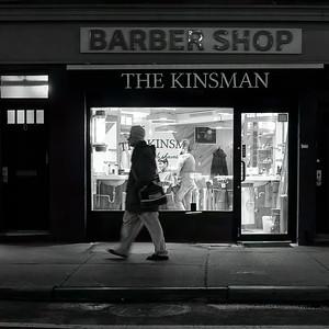 The Kinsman, Greenwich Village, NYC  (1866-BW)