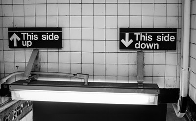 Keeping It Simple, NYC (130714-BW)