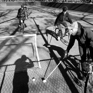 Bike Polo No. 1, New York City  (86083-BW)