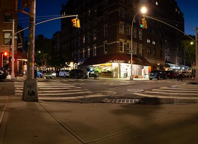 Summer Evening, Greenwich Village, NYC