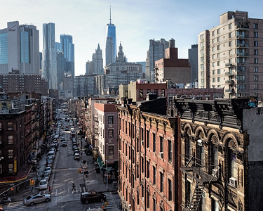Winter Afternoon, Chinatown, Manhattan, NYC  (86409)