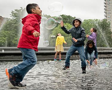 Bubbles, Washington Square Park, NYC  (278623)