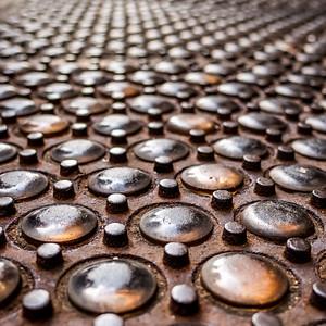 Cast Iron Sidewalk Panel  (00259)