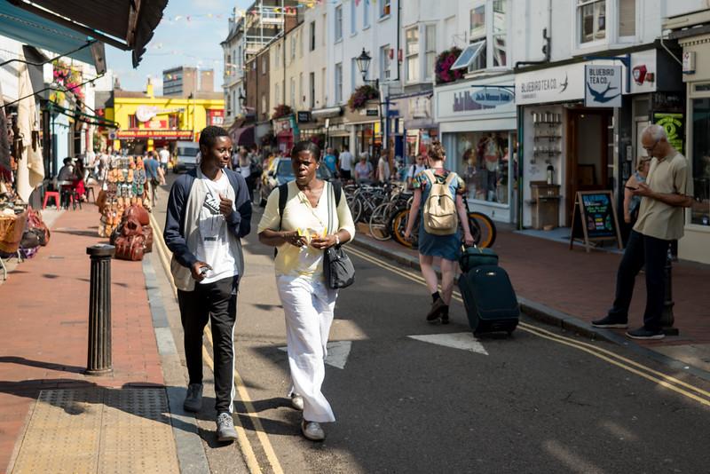 Friday in Brighton