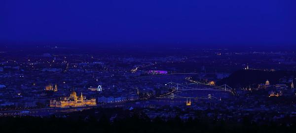 Budapest in Blue — Budapest a kék órában