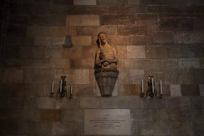 Stefanskirche (Dom) enterior - Christ of theToothache