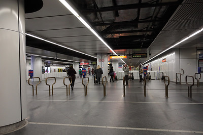 Stephansplatz underground and metro stations