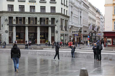 Life of Michaelerplatz
