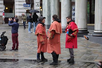 Tourist Hunters of Michaelerplatz