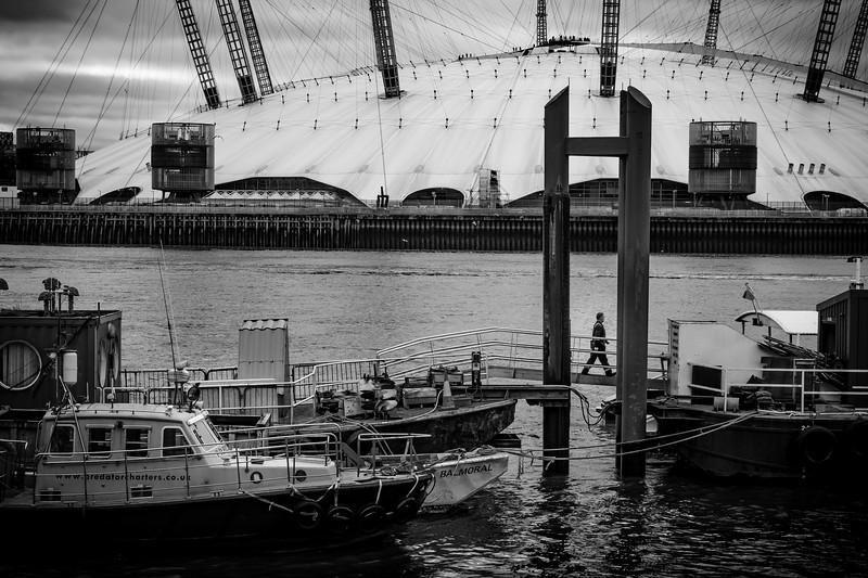With all my recent gig work, I felt that I have been neglecting my street photography so thought I'd share this from my ongoing #LDN project. This shot of the Millennium Dome (the 02 to Millennials) was taken at Trinity Buoy Wharf after being inspired by member of the Royal Photographic Society to check out this location as part of my project. A very interesting hidden gem in this great city!<br /> <br /> .<br /> .<br /> .
