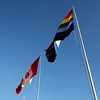 Cusco and Pervu Flags