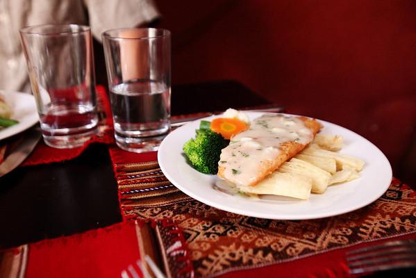 Lunch - Cusco, Peru