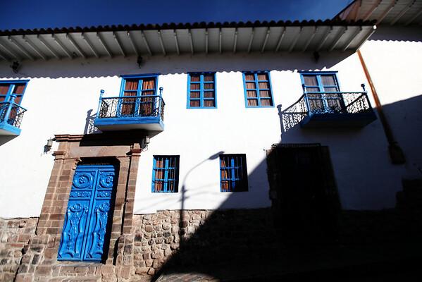 Cool Blue Doors