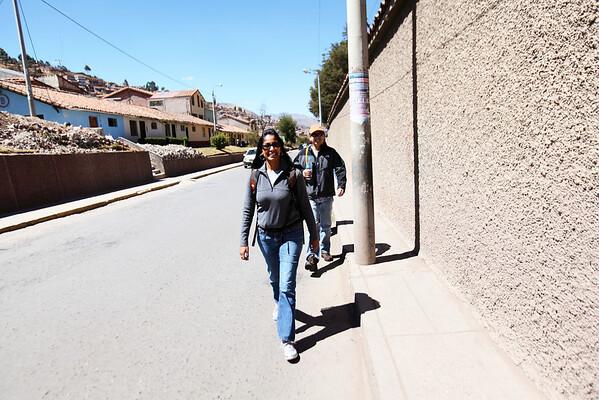 Walking down Reccoletta