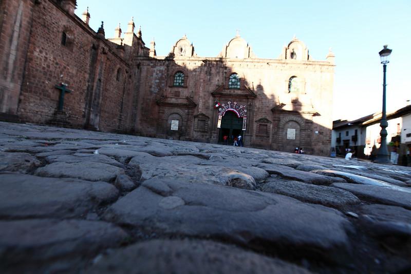 Cathedral in Plaza de Armas - Cusco, Peru