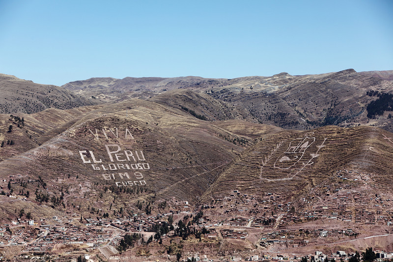 The hills of Cusco