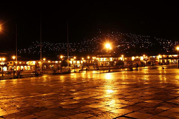 A view of Plaza de Armas - Cusco, Peru