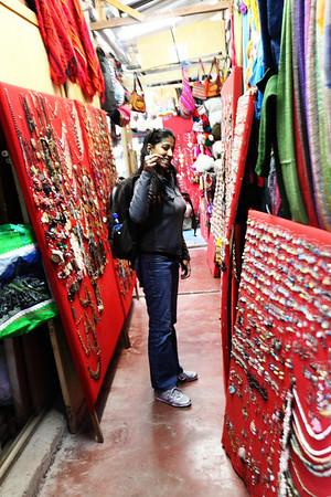 Shopping - Cusco, Peru