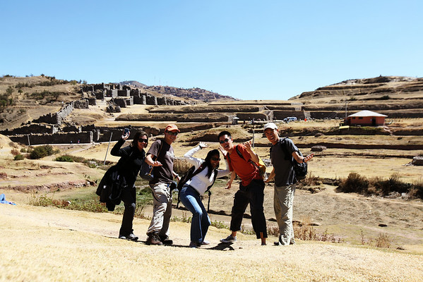 70 soles to get in.  Priceless picture outside.  Sacsayhuaman