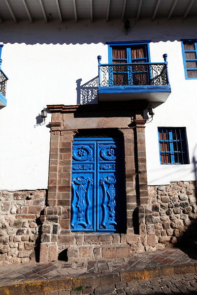 Cool Blue Doors