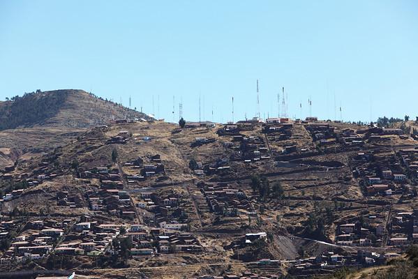 The hills of Cusco