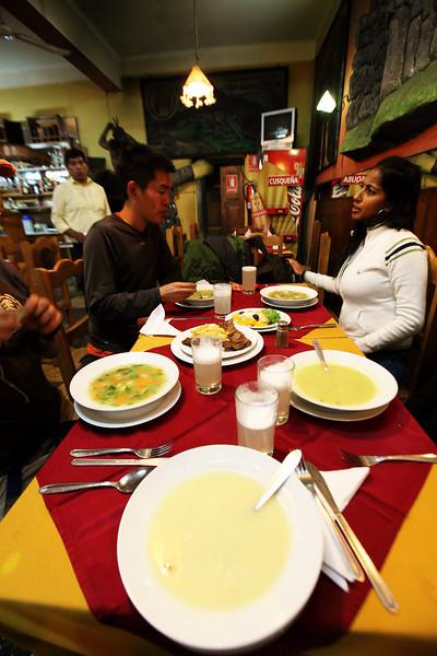 $5 Last Supper BEFORE INCA TRAIL!  - 3 coarses