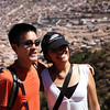 Cusco View - with new friends