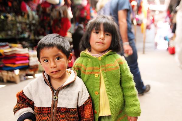 Cusco Market Rug Rats