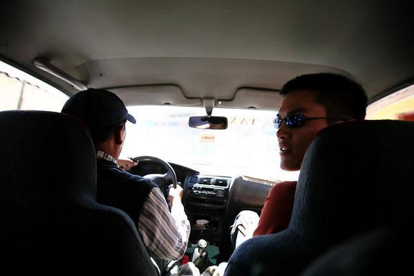 Cab ride!