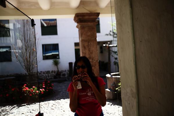 I like corn - Hostel Inkarri - Cusco, Peru