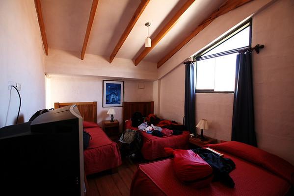 Our return from the Jungle - Hostel Inkarri - Cusco, Peru