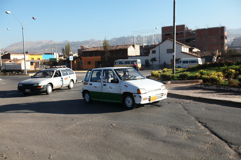 Traffic Circle - Cusco, Peru