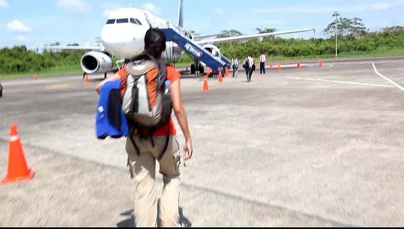 Leaving Puerto Maldonado