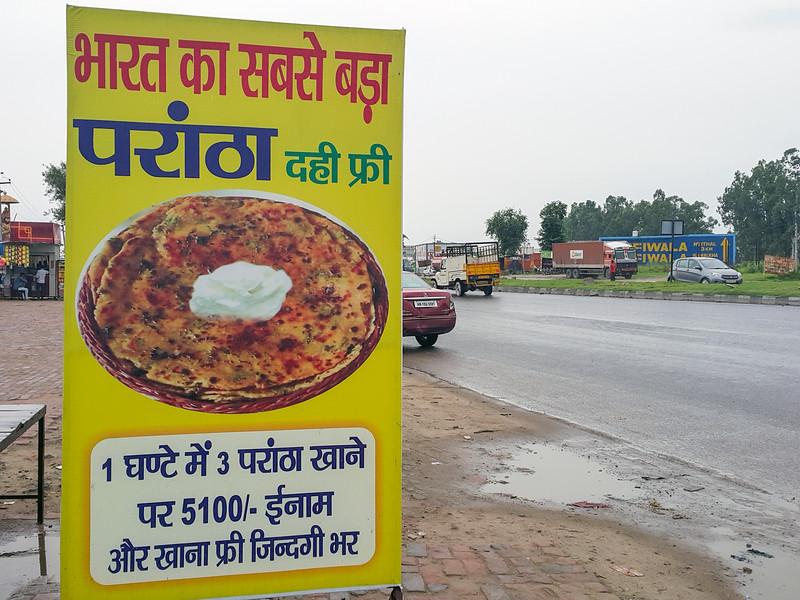 Haryana-Chandigarh highway Roadside dhaba