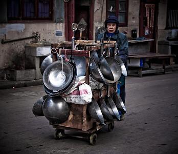 Shanghai, wok-árus